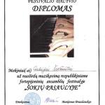 Diplomas Gabijai Šedžiūtei