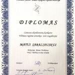 Diplomas Matui Sabaliauskui
