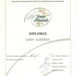 Diplomantas Lukas Aliejūnas